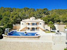 Villa Traum Meerblick Pool 23x12m Jacuzzi Calpe Costa Blanca Top Kapitalanlage