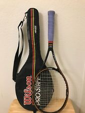 Wilson Prostaff 6.0 Midsize 85 Tennis Racquet 4 1/2 L4 Needs Strings with Case