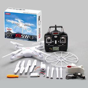 Drohne SYMA X5SW Wifi Fpv-Rc 2.4Ghz 4CH 6-Axis RTF 2MP HD Kammer 29206