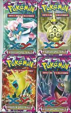 lot de 4 boosters pokemon XY  VIGUEUR SPECTRALE
