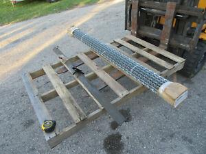 "Smithco Sand Trap Rake Attachment 43-008 Drag Mat Kit 72"" Infield Groomer"
