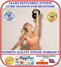 Learn Kettlebell Training Womens Begineers Fitness Guide 4 Fast  Weight Loss DVD