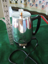 PERCULATER COFFEE POT,  MRS. CLEAVER WHERE ARE YOU? 8 CUPS