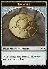4x Treasure Token | NM/M | Ravnica Allegiance | Magic MTG