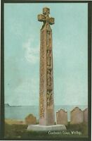 "Caedmon's Ceoss, Whitby, North Yorkshire - ""Shurey's"" Printed Postcard (c1910)"