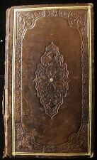 BREVIARIUM AUSCITANUM Auch Diocese Breviary 1827 Leather Bound Nice Condition