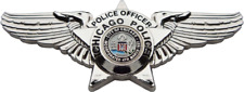 CHICAGO POLICE DEPARTMENT PILOT WINGS BADGE
