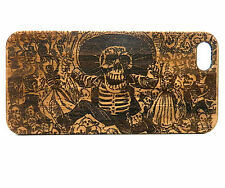 BAMBOO Case made for iPhone 7 Plus with Day of the Dead Skull Artwork Design