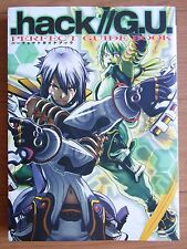 Japan .hack/G.U. Official Perfect Guide Book