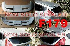 SPOILER  ALETTONE GREZZO  FORD FIESTA VII 7   MK7  cod F179G TR179-2G