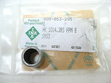 NEEDLE BEARING INA HK 1014.2RS FPM B  NEW IN BAG