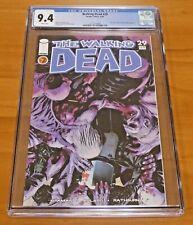 The Walking Dead #29 Image Comics 2006 CGC Graded 9.4 Pin-up Back Cover Rathburn