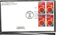 US SC #  3315 Prostate Cancer Awareness  FDC . Uncacheted