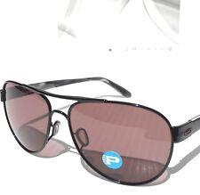 NEW* Oakley DISCLOSURE Black w POLARIZED Grey Lens Womens Sunglass 4110-04 $180