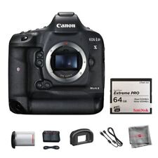 Canon EOS 1D X Mark II ( 1DX ) DSLR Body + SanDisk 64GB CFast Memory Card