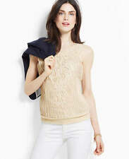 Ann Taylor Rope Shell Cami Top LP Petite NWT