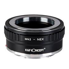 M42-NEX II Bague d'Adaptation pr  M42 Objectif sur Sony NEX Boîtier/ K&F Concept