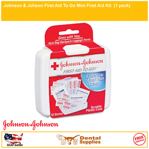 Johnson & Johson First Aid To Go Mini First Aid Kit  (1 pack)