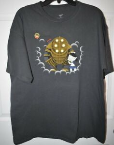Bioshock t-shirt XL Big Daddy and Little Sister