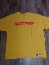 "Hulk Hogan ""Hulkamania"" authentic t-shirt size medium, last one in stock"