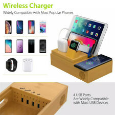 5 in 1 Mobile Phone Wireless Charger USB Phone Tablet Electronic Watch Stand