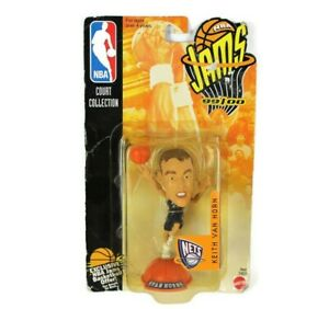 Mattel NBA Jams New Jersey Nets Keith Van Horn 99/00 Court CollectionToy Figure