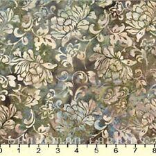 Hoffman Batiks Fabric - Bali Batik - #N2891-294 Sandpiper Scrolly Floral