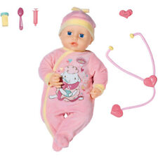 Baby Annabell Milly Feels Better 43cm Interactive Baby Doll & Accessories