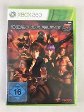 Xbox 360 Dead or Alive 5, German Version, Brand New & Factory Sealed, Small Tear