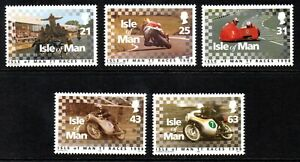 Isle of Man Stamps 1998 SG 808-812 Isle of Man T.T. Races  Unmounted Mint MNH