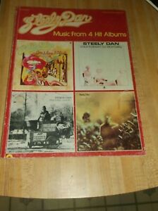 Steely Dan Music From 4 Hit Albums Paperback Good Condition Sheet Music