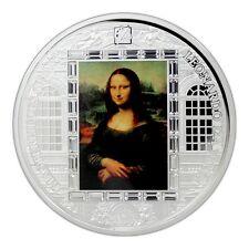 Cook Islands 2016 20$ Masterpieces of Art Mona Lisa Leonardo da Vinci Silver 3Oz