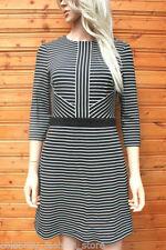 Viscose Cocktail Dry-clean Only Striped Clothing for Women