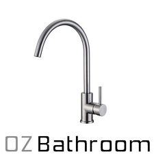 LEAD FREE BRUSHED STAINLESS STEEL kitchen sink mixer Watermark SWIVEL TAP FAUCET