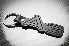 AUDI A3 Luxury Leather Keyring Keychain Schlüsselring Porte-clés RS3 S3 1.8T TDi