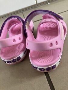 crocs infant size 7