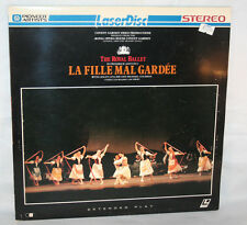 Laserdisc (3)  * The Royal Ballet * La Fille Mal Gardee Extended Play