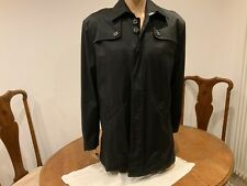KENNETH COLE mens coat Size L black jacket