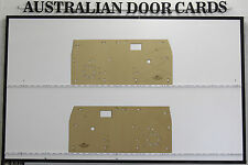 Toyota Hilux Aug-1978 to 1983 Door Cards. Ute Pick Up Truck Masonite Trim Panels