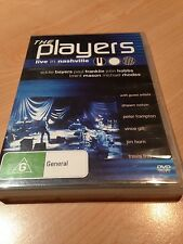 The Players: Live in Nashville DVD, Like New, Free Postage, Peter Frampton