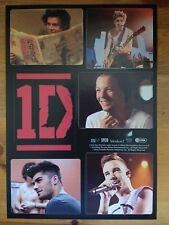 One Direction Stickers X 6