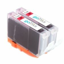 2 Magenta Ink Cartridges to replace Canon CLI-8M non-OEM / Compatible for PIXMA