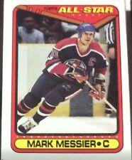 1990 Topps Hockey All-Star #198 Mark Messier - Many Sports Card Available