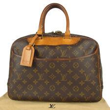 Sale! Auth LOUIS VUITTON M47420 Monogram Deauville Hand Bag France F/S 9364bkac