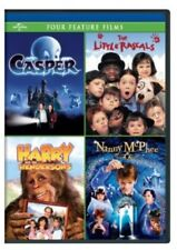 Casper / The Little Rascals / Harry and the Hendersons / Nanny McPhee [New DVD]
