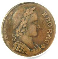 1787 Nova Eborac Colonial Copper Coin - Certified PCGS VF20 - $500 Value!