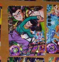Dragon ball z dbz dbs heroes card prism holo card hgd5-39 sr dbh super rare **