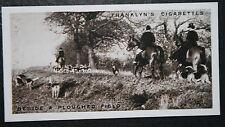 Atherstone Foxhounds  Shuttington Bridge   Warwickshire   Vintage Photo Card