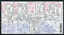 Netherlands 2018 MNH Beautiful Zierikzee Culemborg 5v M/S Architecture Stamps