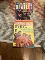 VINTAGE LOT of (2) Beatles  Related Magazines from 1964